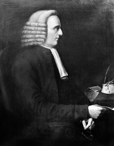 Portrait of William Cookworthy. Picture courtesy of Wellcome Library, London. http://wellcomeimages.org