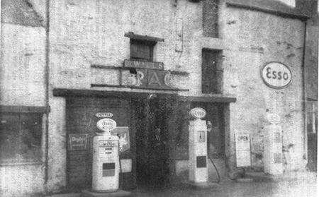 The Mill operated as Wills' Garage for 80 years until 1965.