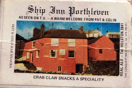At one time the pub was painted pink, as can be seen on this business card form the 1990's.
