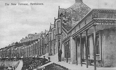 The end plot was once a Temperance tearooms